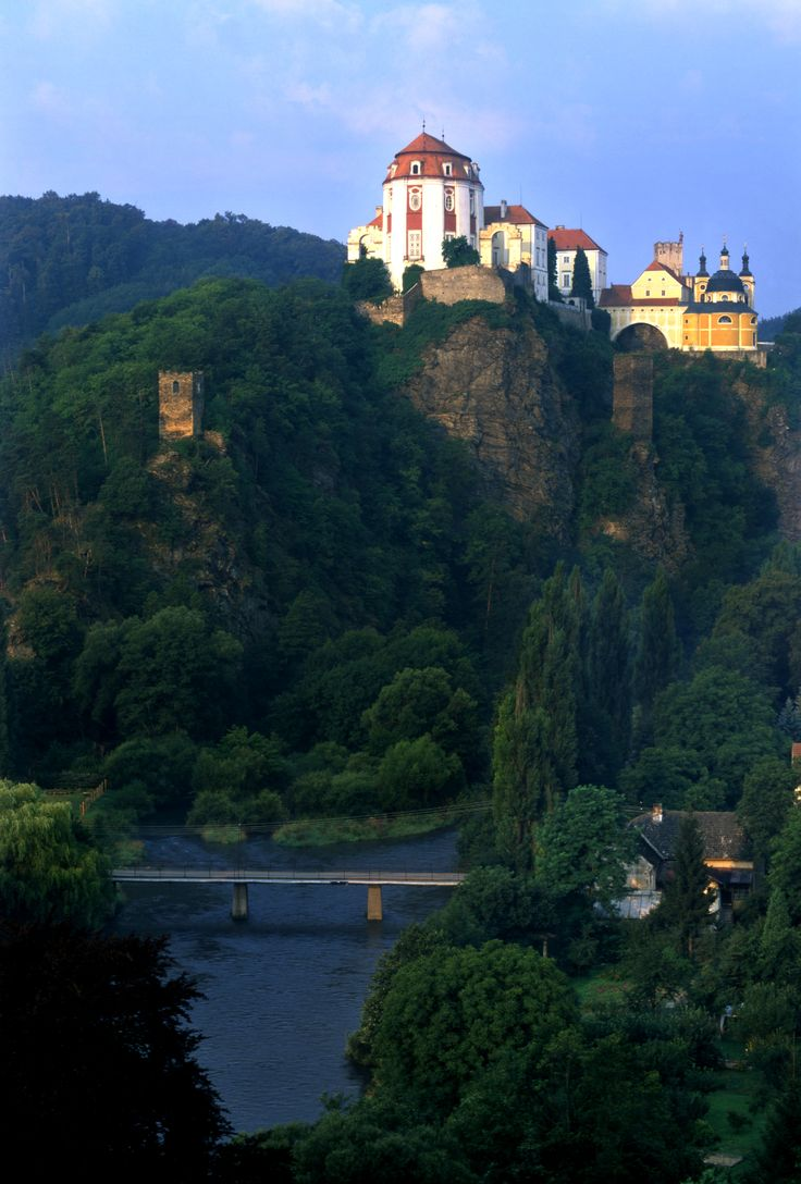 Majestic Vranov nad Dyji Castle, Czech Republic, #CzechRepublic