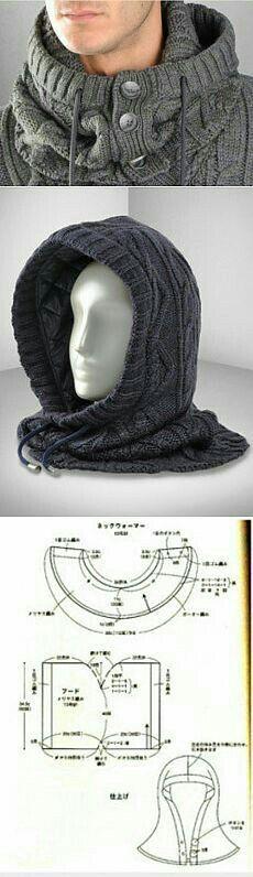 Gorro bufanda Para hombre
