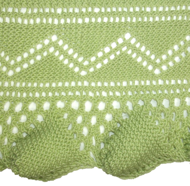 Deep Shell Lace can be found in the Edging Stitches category.
