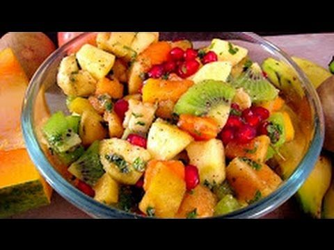 Vegetable Salad , Vegetarian Salad recipe in Hindi [with English Subtitles]