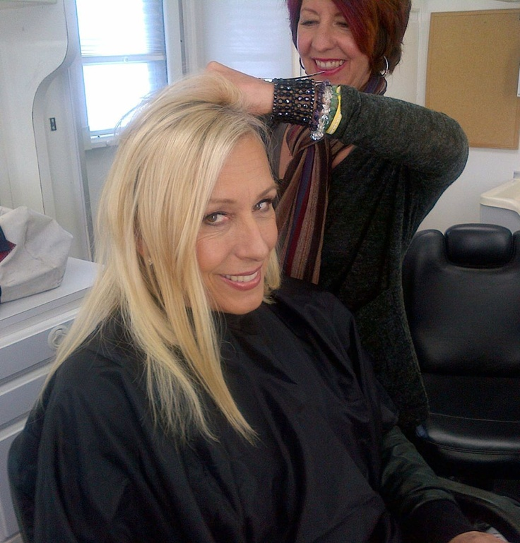 martina navratilova getting hair extensions for dancing with the stars wow follow martina