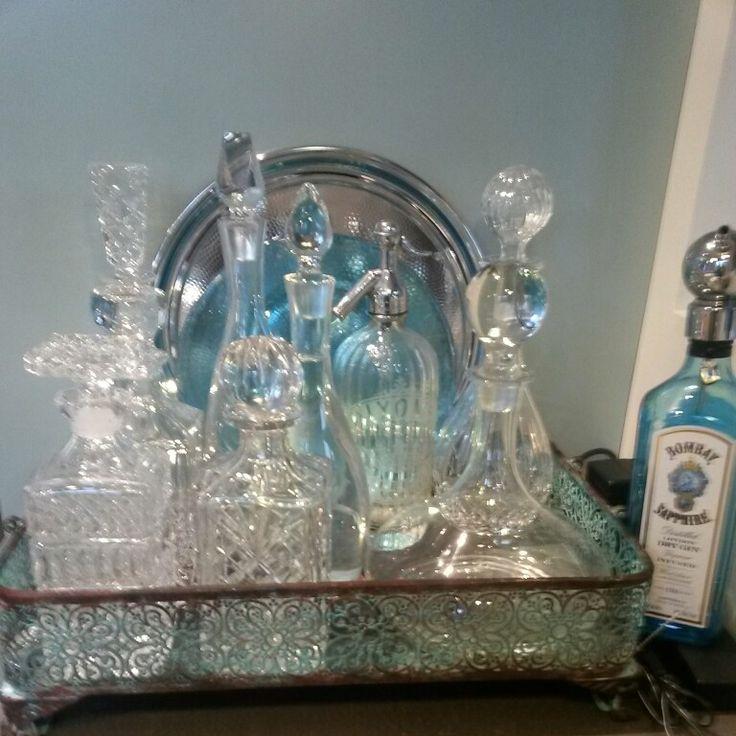 My decanters soooo pretty