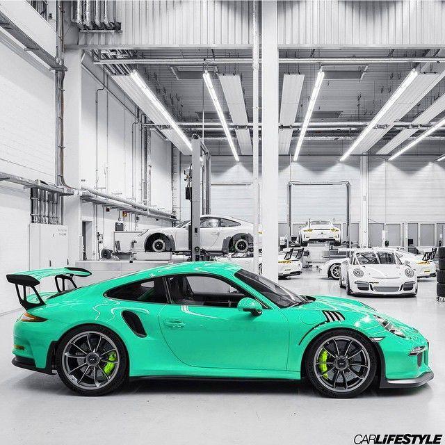 Porsche GT3 RS • Photo by @Porsche •