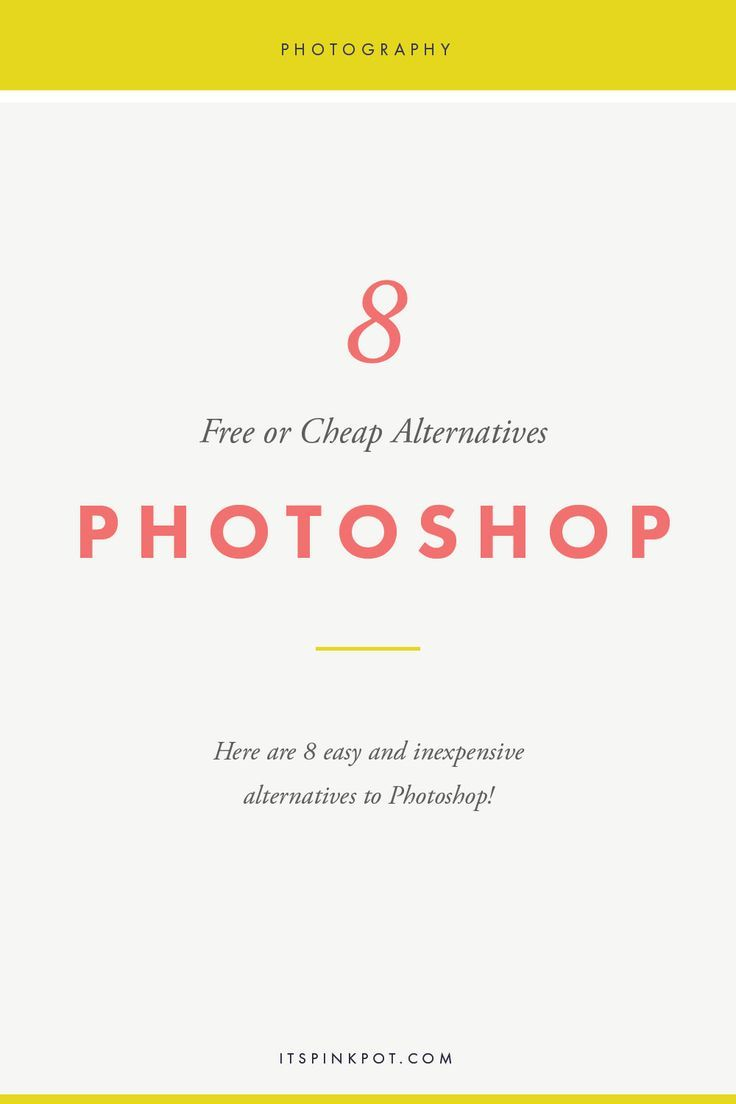 8 Free Or Cheap Alternatives To Photoshop