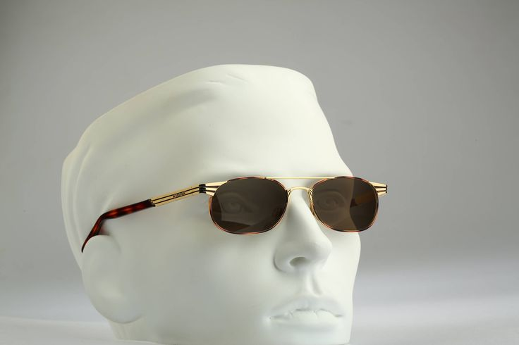 Versus Gianni Versace Mod F 17 Col 36M / Vintage sunglasses / NOS / Rare 90s designer eyewear by CarettaVintage on Etsy