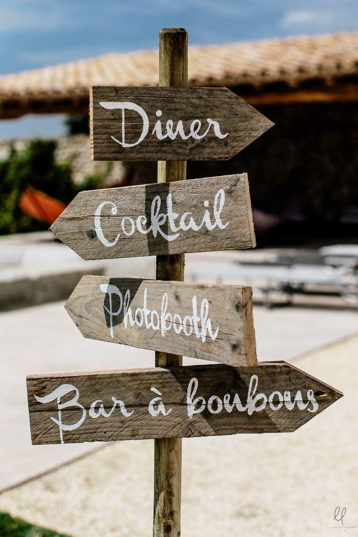 panneau, mariage, bois, diner, cocktail, photobooth, bar à bonbons, j'en veux 1 absolument ;) !