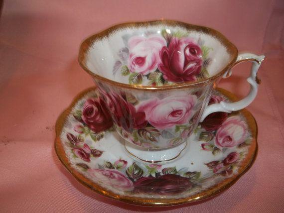 Vintage Royal Albert Bone China Tea Cup & by CountryLadyClassics