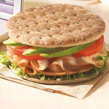 Avocado, Turkey & Tomato Sandwich 6 POINTS !!!