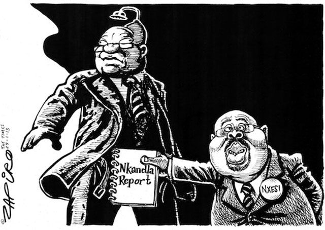 Nxesi Report on Nkandla - Zuma Home not Built with Public Funds