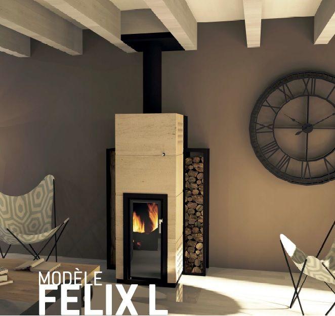 Felix L By Vulcar Air Cheminees Hybrides A Pellet Et A Bois
