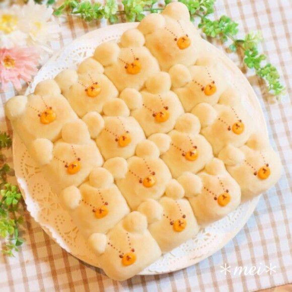 ジャッキーちぎりパン♡
