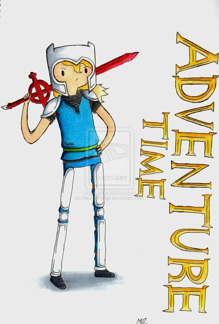 AT: finn the white knight by NeurithForge.deviantart.com on @deviantART