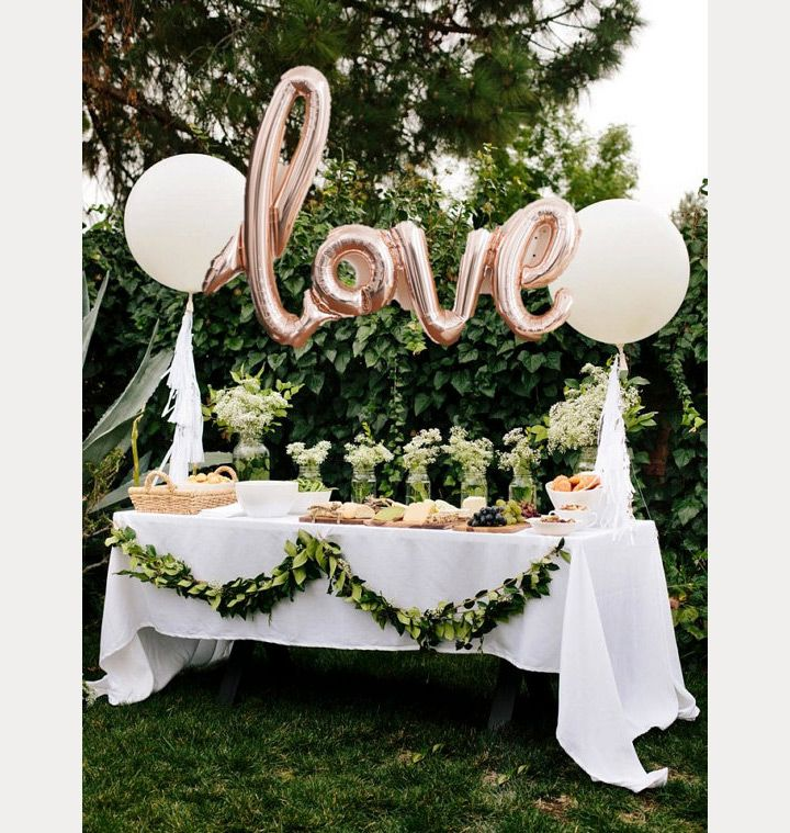 391 best wedding details decor images on pinterest 50 awesome balloon wedding ideas junglespirit Images
