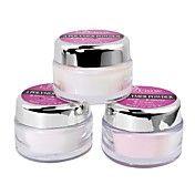 3st nail art acylisk pulver vit & rosa & klar... – SEK Kr. 142
