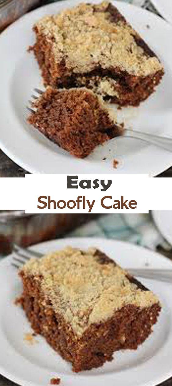 Easy Shoofly Cake