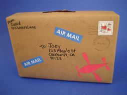 Valentine Air Mail Have The Kids Receive Valentine Air Mail From Cupid  Himself! This Is An Easy Valentine Box For Boys Or Girls, Preschoolers On  Up ...