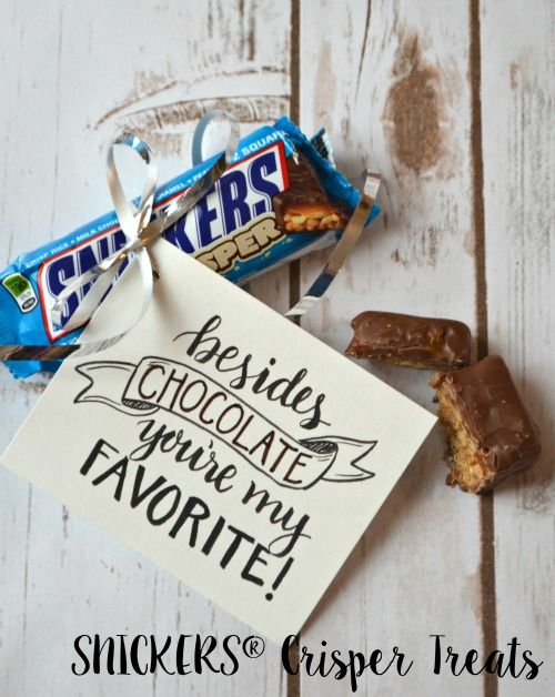 SNICKERS® Crisper Treat & Free Printable - One Artsy Mama