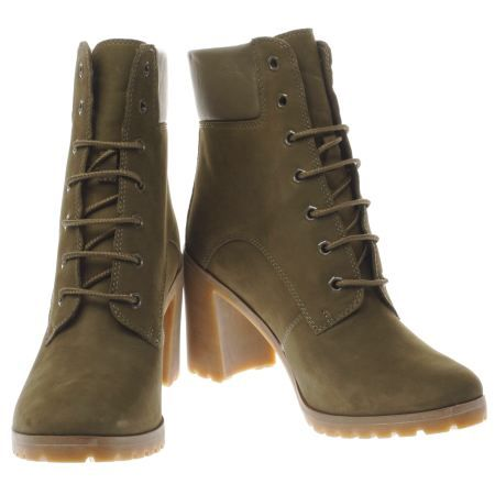 womens timberland khaki allington boots