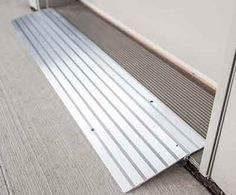 Threshold Ramps, threshold wheelchair Ramps, door Threshold Ramps  I just want something like this for my front door so I can go out to the porch and enjoy being part of life.