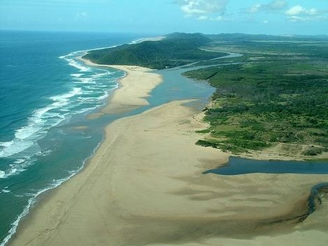 The iSimangaliso Wetland Park, South Africa. (Formerly known as Greater St Lucia Wetland Park.