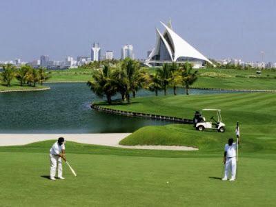 Golf holiday in Dubai
