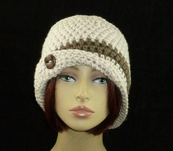 Sonya Flapper Cloche  Hand Crocheted by HandmadeCottage on Etsy, $29.00