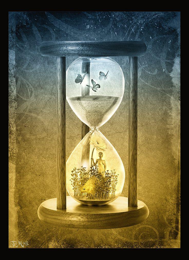 Картинка время истекает внутри