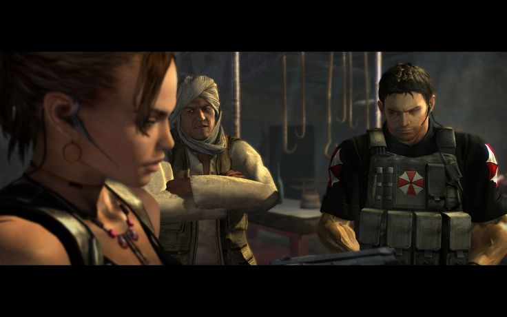 Umbrella Characters Pack / Screen 008 / Mods for Resident Evil 5(RE5) / Characters - Chris BSAA and Sheva BSAA