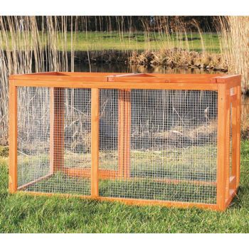 Costco: Outdoor Chicken or Rabbit Run with Mesh Cover by TRIXIE