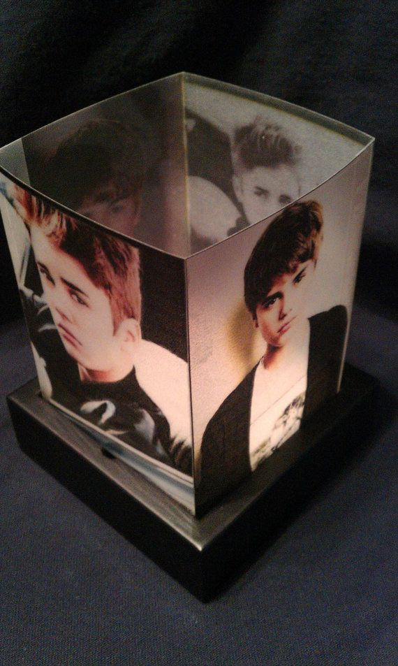 Justin Bieber Luminary Night light Lamp by CherylsCreativeBlock, $15.99