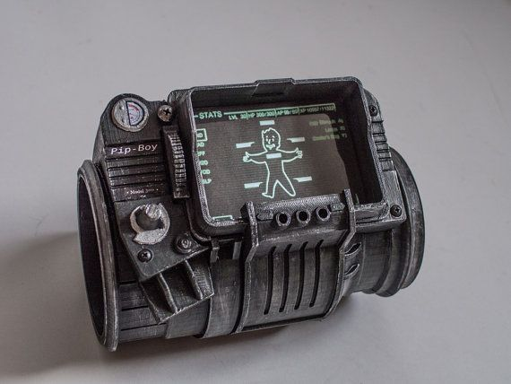 Pip-boy 3000 Vault Edition replica Fallout 3 Pipboy 3000 on Etsy, £103.64