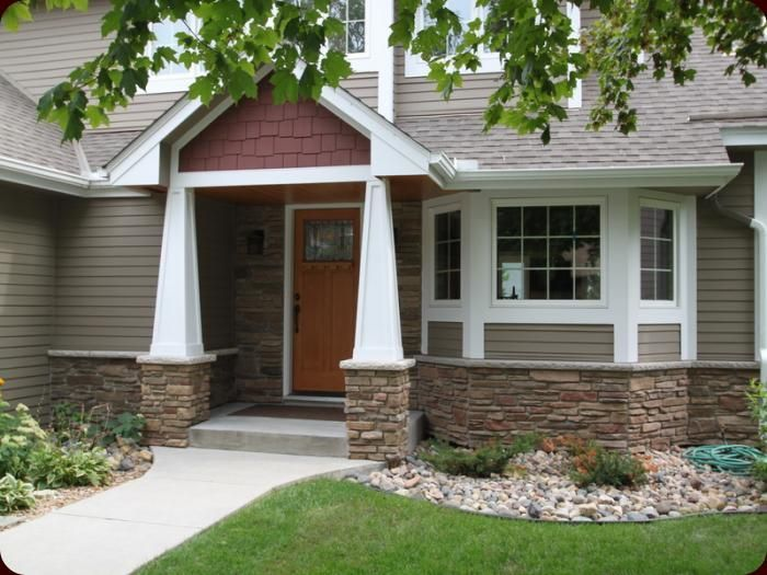 Split Foyer House Colors : Split level entry remodel exterior structural