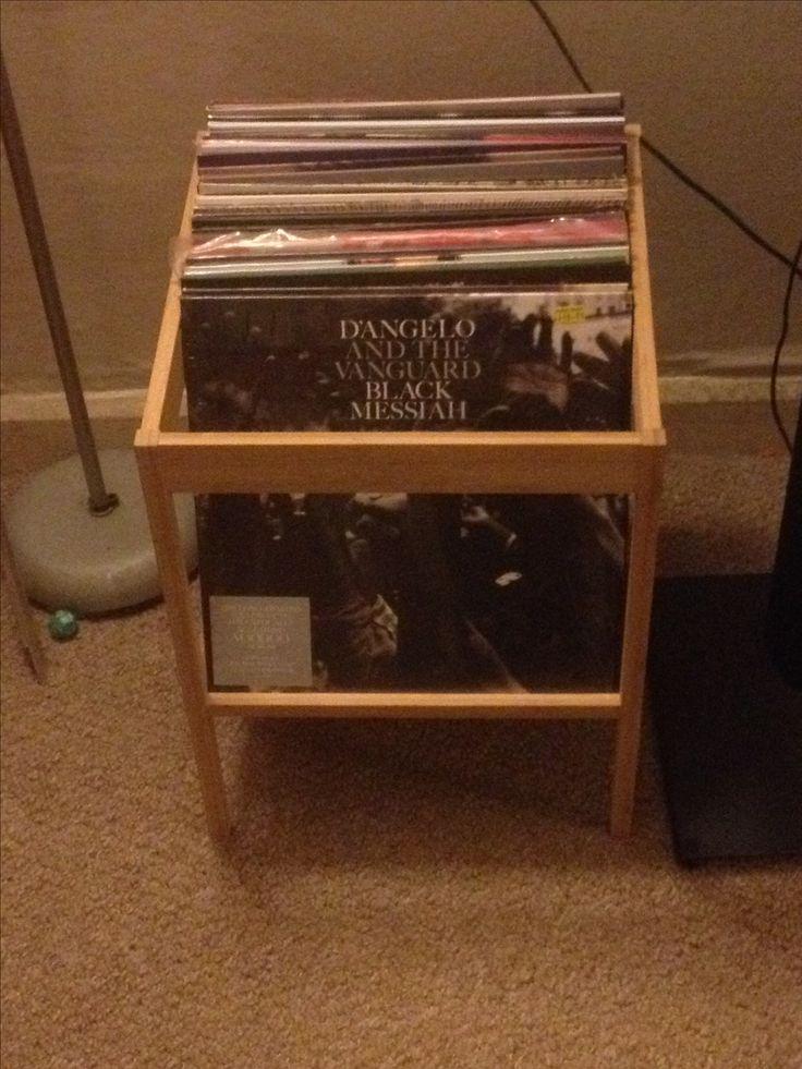 The 25 best ikea vinyl storage ideas on pinterest ikea for Record case ikea