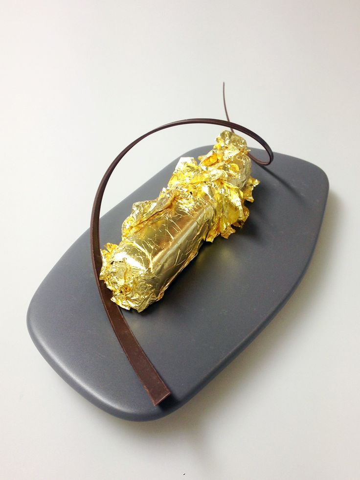 A very expensive cake for someone special.    By Pierrick Boyer.