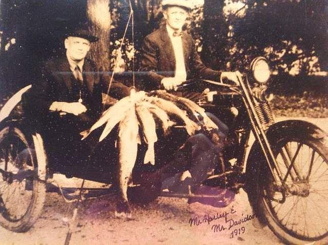 Pioneers: Founders of Harley-Davidson; William Davidson and William Harley