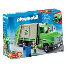 Playmobil - Camion de recyclage Vert (5938)
