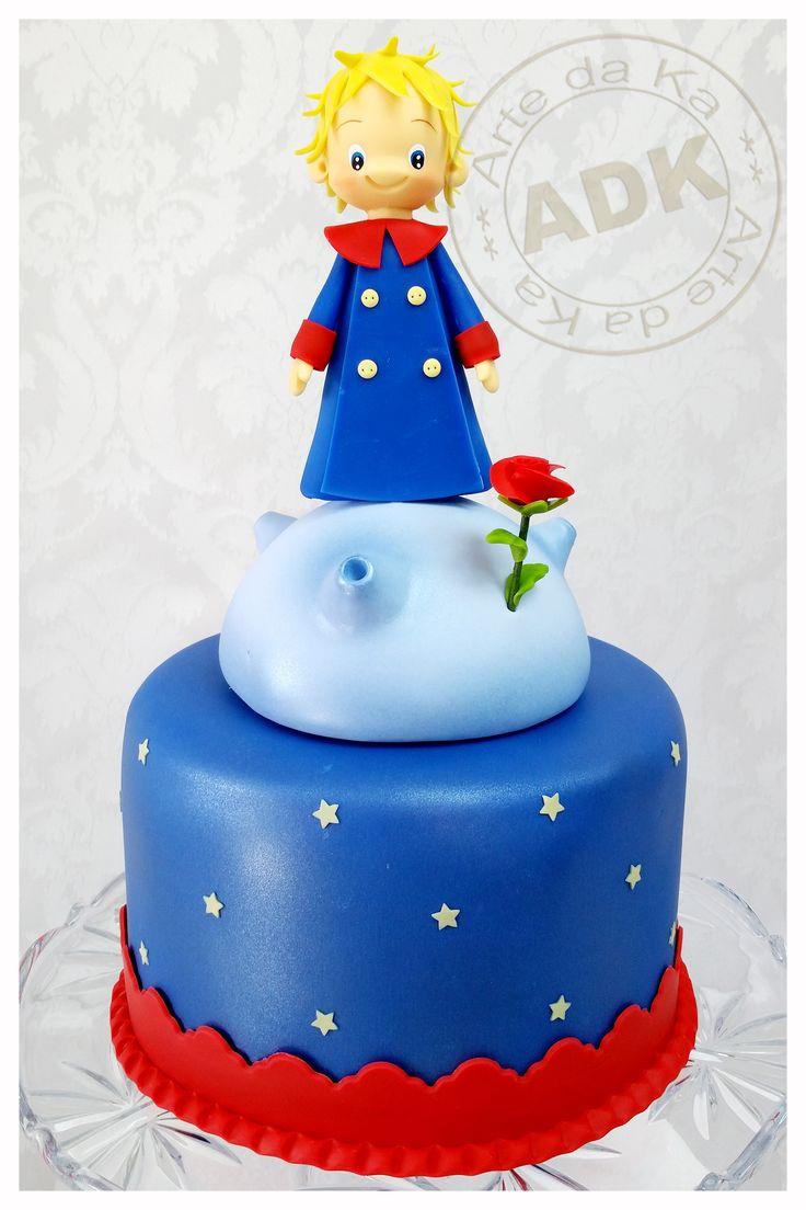 Pequeno Príncipe cake - Le Petit Prince