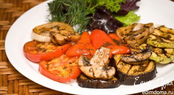 Маринад для овощей гриль