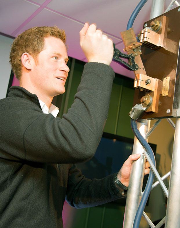 Prince Harry launches Notts TV Institute for Confetti ICT