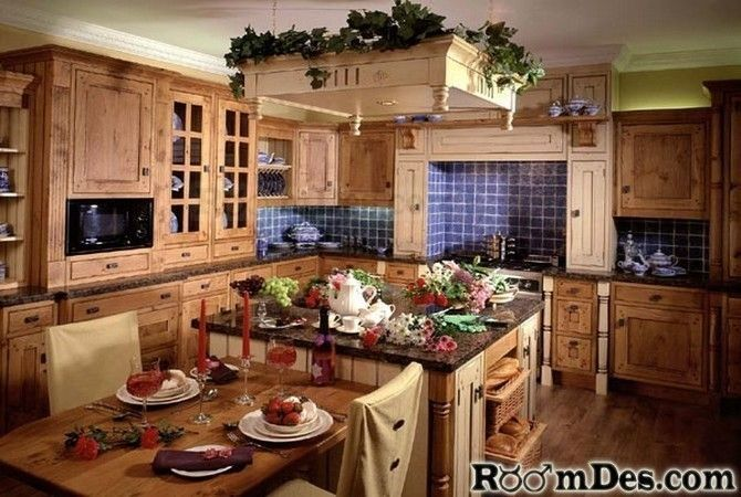 Mexican style kitchens mexican style kitchen cabinets - Country style kitchen cabinets design ...