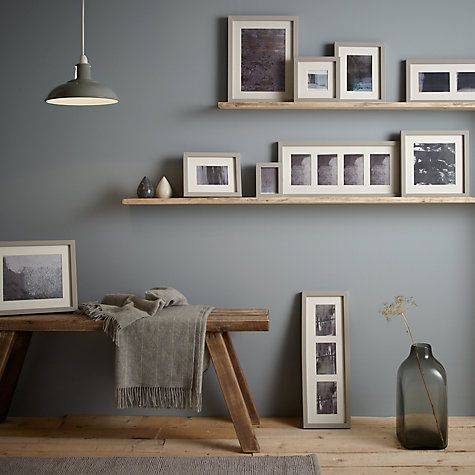 "Buy John Lewis Croft Collection Multi-aperture Photo Frame, Grey, 3 Photo, 4 x 6"" (10 x 15cm) Online at johnlewis.com"
