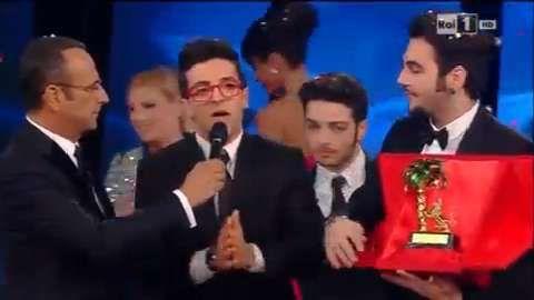 #Sanremo2015 #IlVolo vincitori