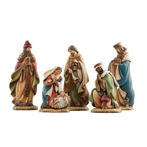 Joseph S Studio 5 Piece Miniature Nativity Set Joseph S