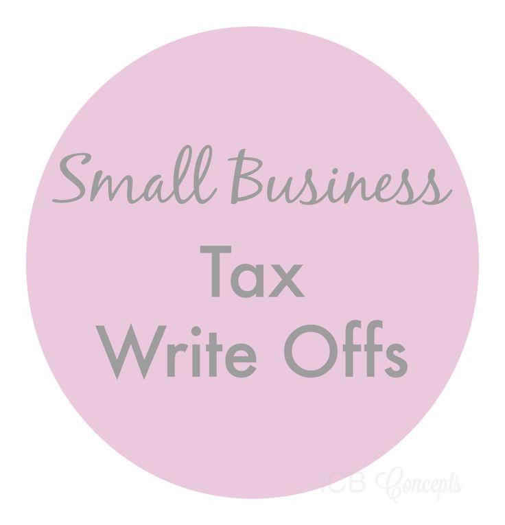 Small Business Tax Write Offs via blogICB
