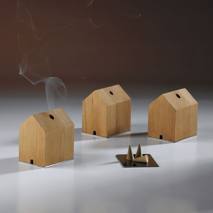A cozy home of incense - how adorably clever.