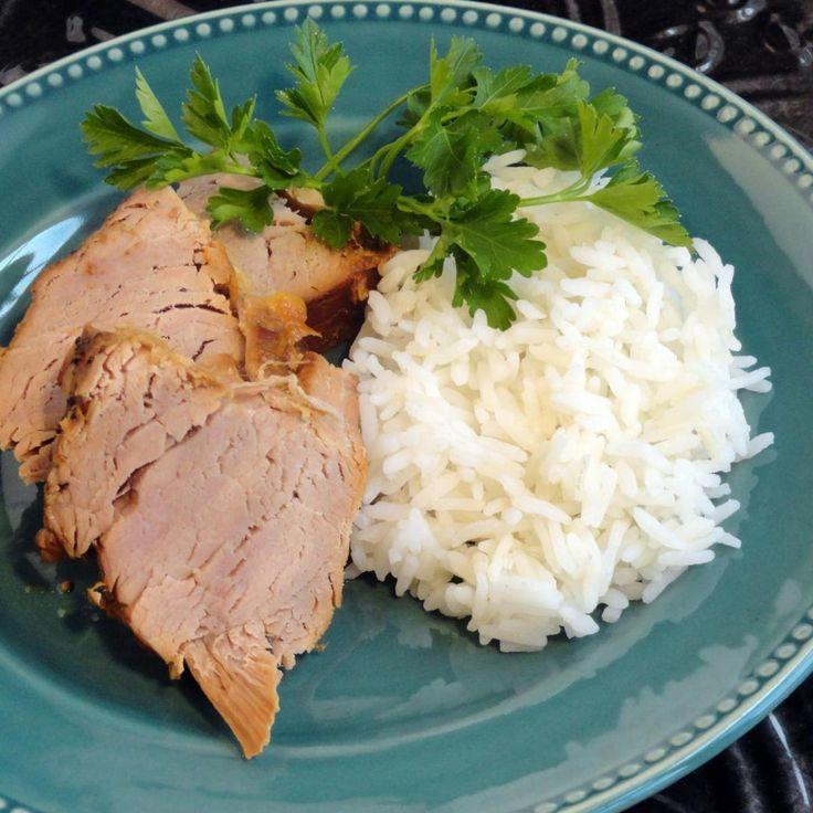 Sweet & Spicy Pork Tenderloin #recipe #homecooking