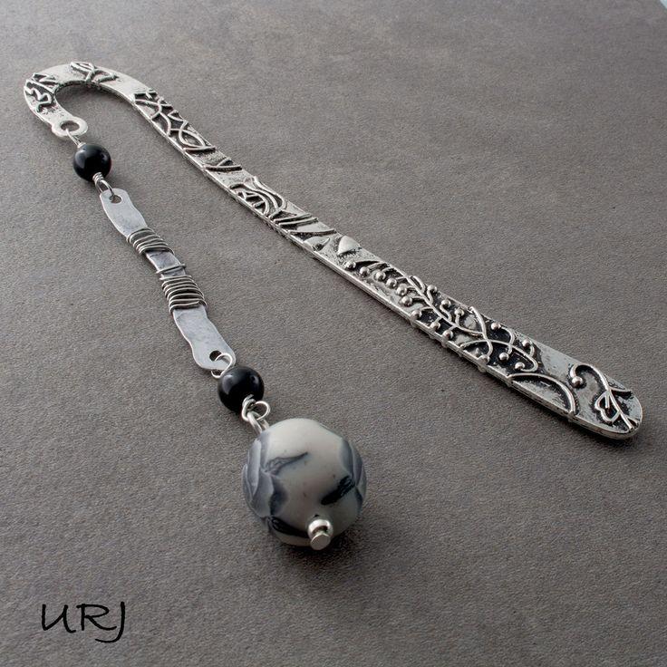 Unique Rabbit Jewellery - Black Rose Silver bookmark, $26.00 (http://www.uniquerabbitjewellery.com.au/black-rose-silver-bookmark/)
