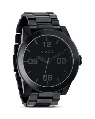NIXON The Corporal Stainless Steel All Black Watch. #nixon #watch
