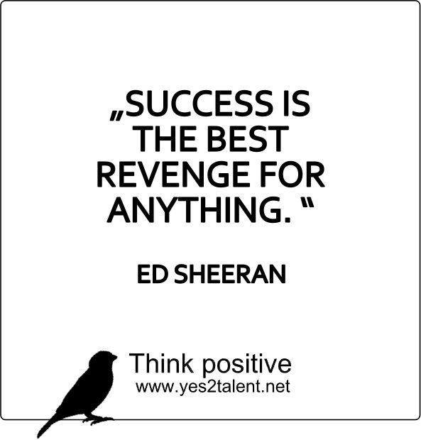 Success Is The Greatest Revenge Quote: 104 Best Zitate Images On Pinterest