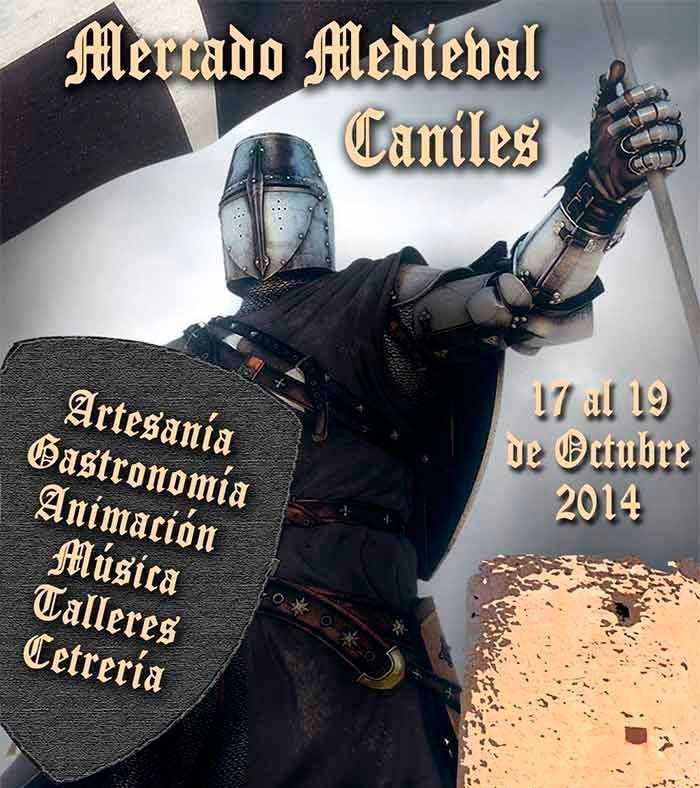 Mercado Medieval en Caniles (Granada), del 17 al 19 de Octubre